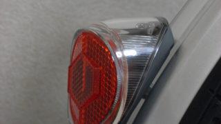 テールライト【キャットアイ TL-SLR100】の取り付け