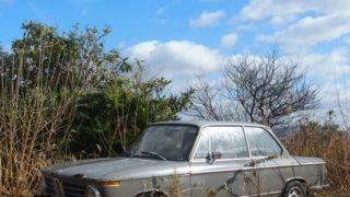 【日常】廃車のある風景 BMW