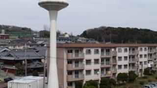 【日常】団地の給水塔が好き