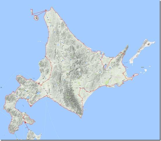 北海道編ルート