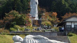 【旅日記】日本三大山城の一つ、大和高取城跡へ行ってきた。(後編)五百羅漢と壷阪寺【低山トレッキング】
