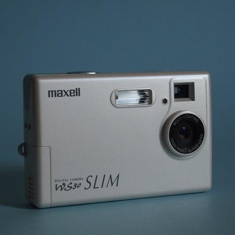 マクセル WS30SLIMの外観