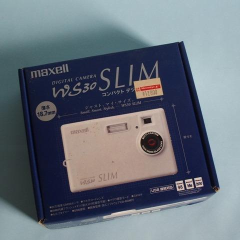 マクセル WS30SLIMのパッケージ